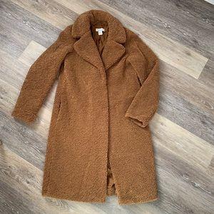 NWOT Rachel Zoe Teddy Bear Coat